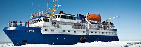 Экспедиционное судно Quest, внешний вид