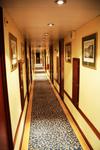 Теплоход Hemingway, коридор