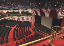 Лайнер MSC Orchestra, концертный зал и кинотеатр
